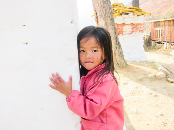 Capturing happiness: Children of Women's Weavers in Bhutan