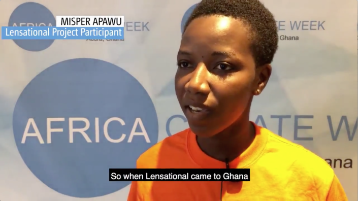 Lensational's Misper Apawu discusses her work on climate change at UN Africa Climate Week