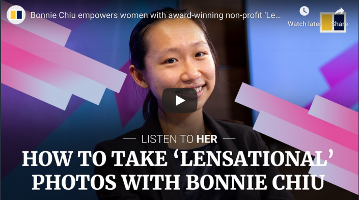 CEO Bonnie Chiu on South China Morning post to share Lensational's mission