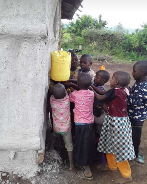 #HerCOVID19stories - Our handwashing inventions in rural Kenya - By Esther Tinayo